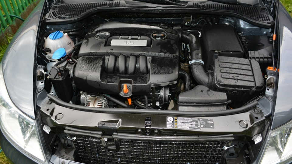 двигатель шкоды октавии