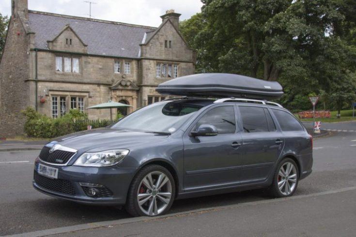 Багажник на крыше Skoda Octavia