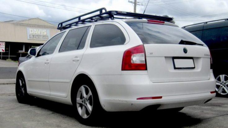 Классический багажник на крышу для Шкоды Октавиа