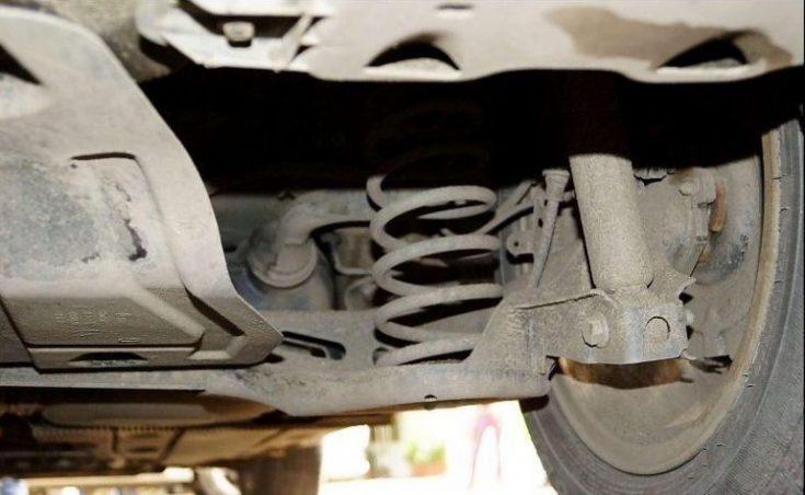Передняя подвеска Skoda Octavia