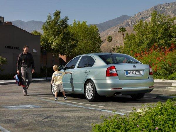 Автомобиль для семьи Skoda Octavia